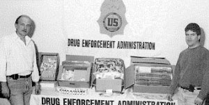DEA Steroid Drug Bust