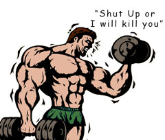 Angry Bodybuilder