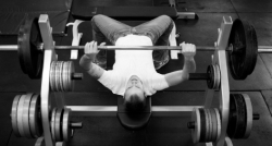 Back View of Bench Press
