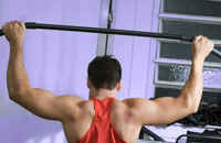 Lat-Bar Pulldowns with a Cable/Pulley system