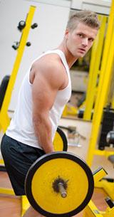 Weight Lifter Lifting