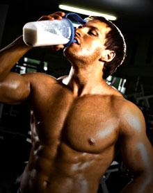 Man Drinking MRP