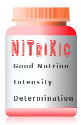 Nutrition, Intensity and Determination Supplement