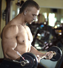 Biceps Curls Slow Lifted
