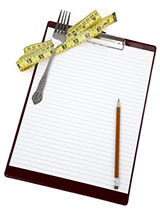 Clipboard for Diet Tracking