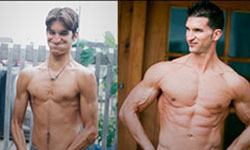 Vince Delmonte - Before and After