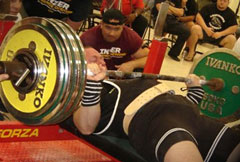 Mike Westerdal Bench Press