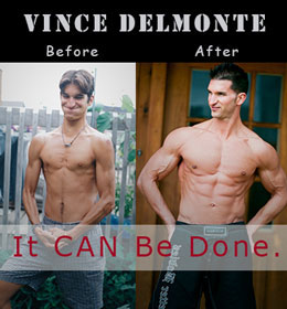Vince Delmonte Before and After