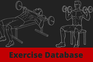 Weight Training Exercise Database